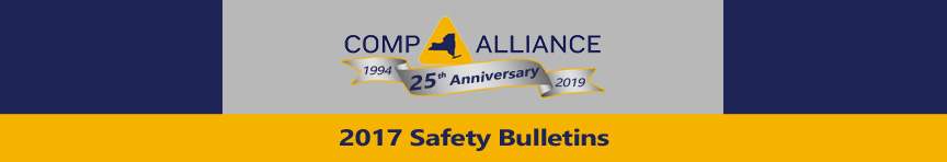 Comp Alliance Safety Bulletins 2017